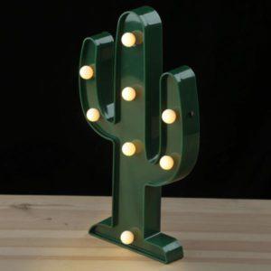 Led lampje cactus