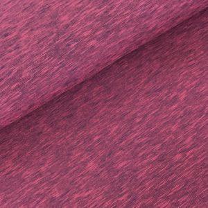 Sweater streepjes fushia