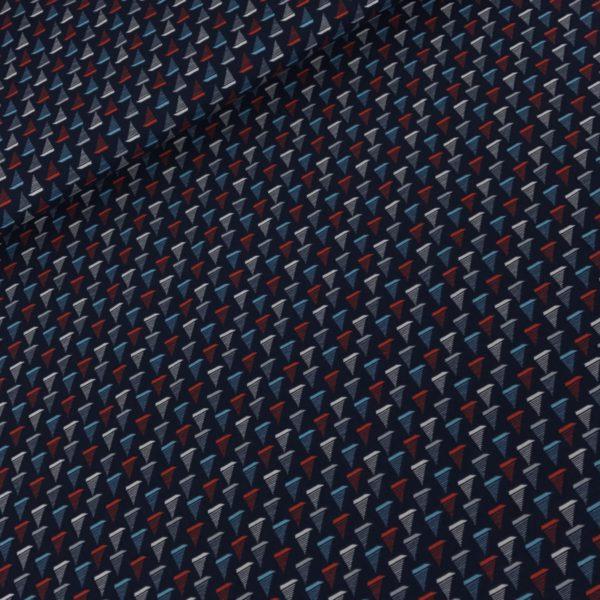 Katoen bootjes blauw