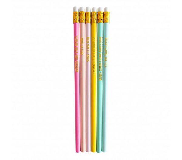 Pencil set pastel