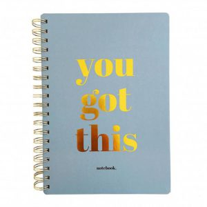 "Notebook ""You got this"""