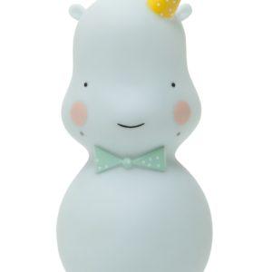 Nachtlampje Hippo mint