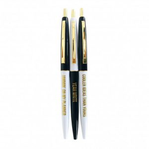 Black & white ballpen set