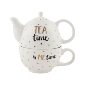 Tea time teapot for one