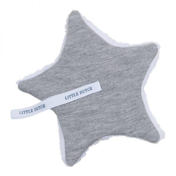Speendoekje melange grey