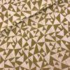 Katoen wit goud driehoek