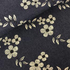 Jeans borduur bloemen