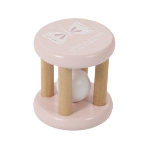 Rammelaar roller hout pink