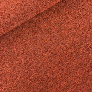 Gebreide viscose rood
