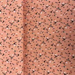 Katoen triangle pink