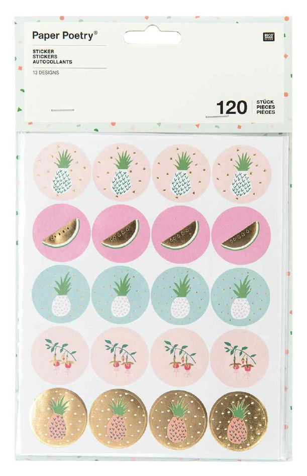 Stickersheet tropica