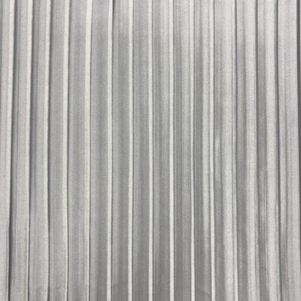 Plissé grijs