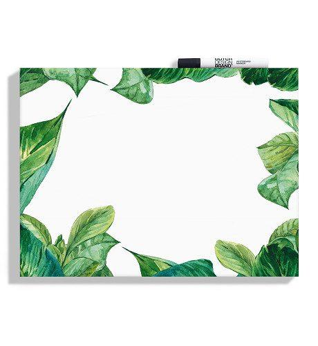 Dutch Design Whiteboard leaves