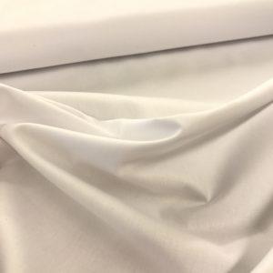 Effen katoen wit