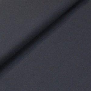 Effen viscose donkerblauw