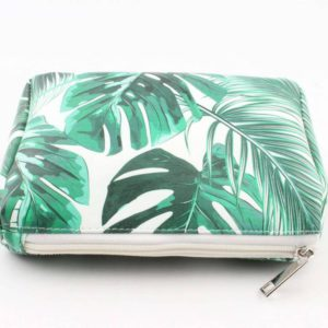 Make up tasje palmbladeren