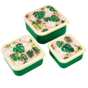 Lunchbox set botanical