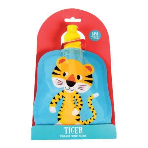 Opvouwbare drinkfles tijger
