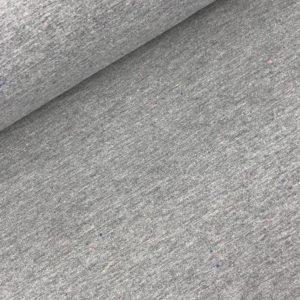 Sweater grijs gekleurde spikkel