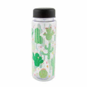 Drinkfles cactus pastel