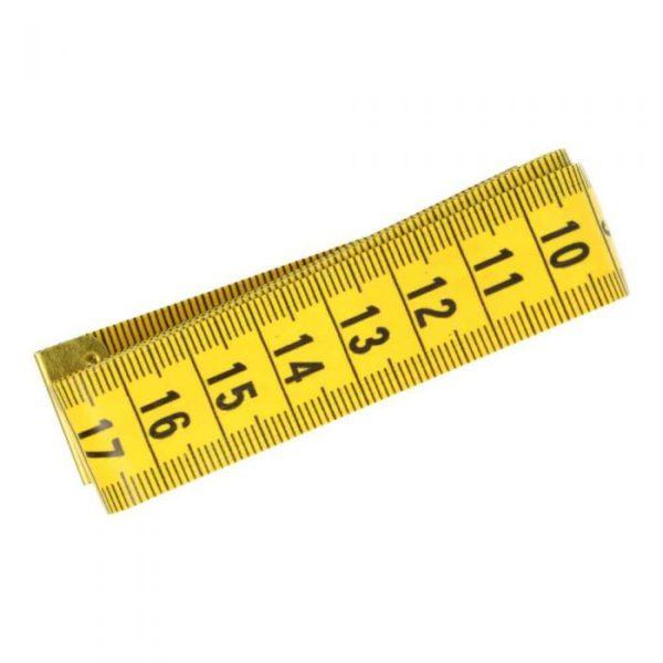 Lintmeter geel/zwart
