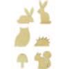 Houten decoratie figuutjes Animal