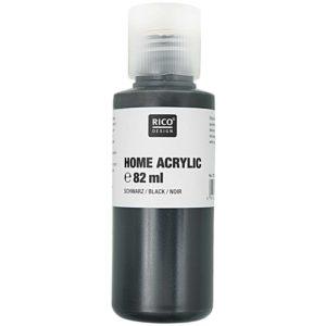 Home acrylic zwart