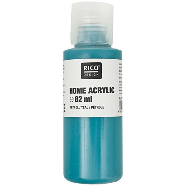 Home acrylic petrol