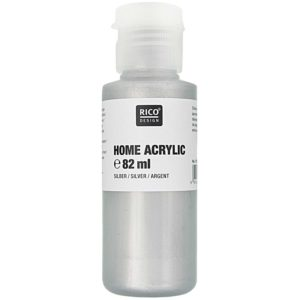 Home acrylic zilver