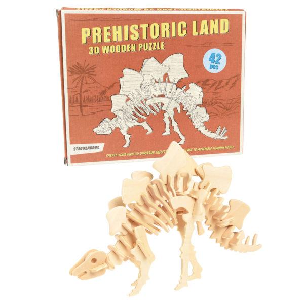 3D puzzel Stegosaurus