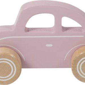 Houten auto pink