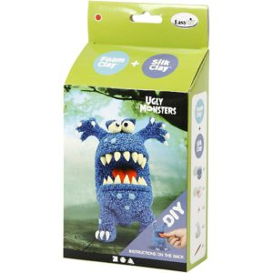 Foamclay set monsters blauw