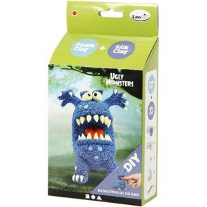 Foamclay set monsters blauw