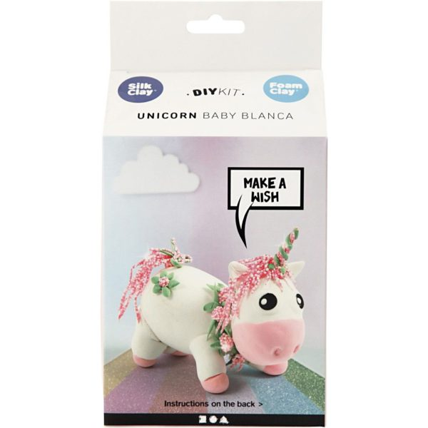 Foamclay set Unicorn Blanca