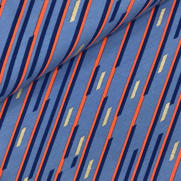 Stripes red-pink-orange