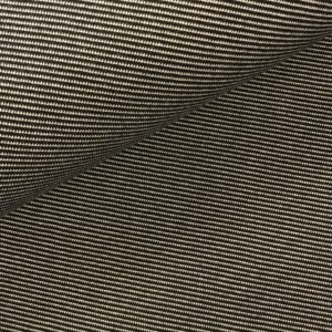 Frech terry Stripes diagonaal zwart