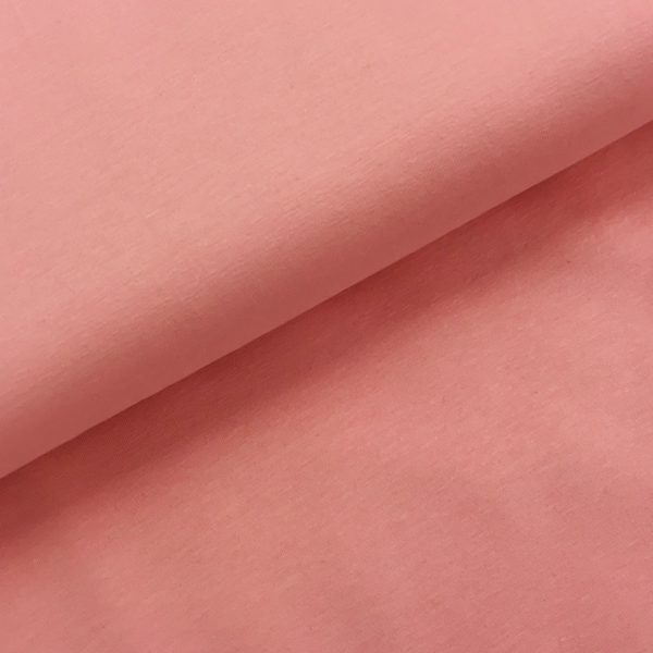 Effen tricot roze