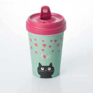 BambooCUP Cat love