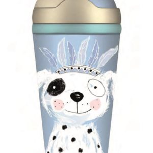 Bamboo Kids Bottle Bear blue