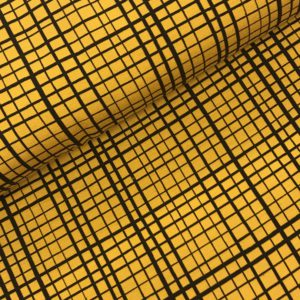 Tricot Froy en Dind Velours Mustard
