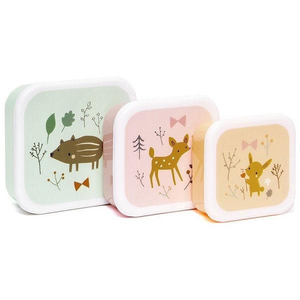 Lunchbox set Forest friends