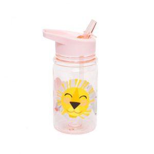 Drinkfles Lion Pink