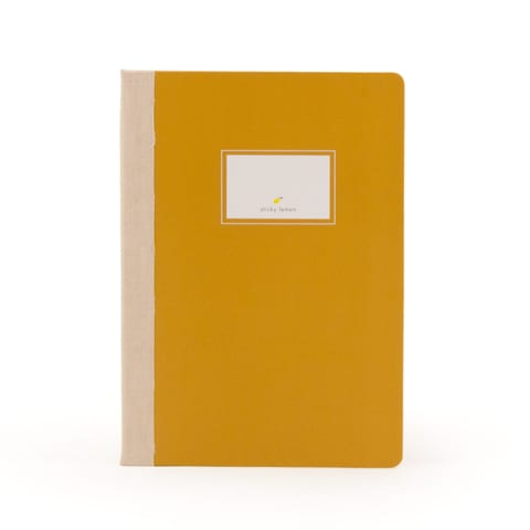 Notebook Sticky lemon Oker
