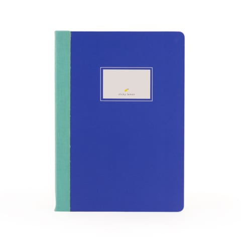 Notebook Sticky lemon Blue