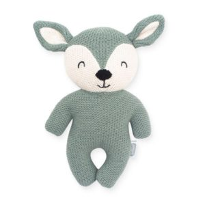 Knuffel Deer Green