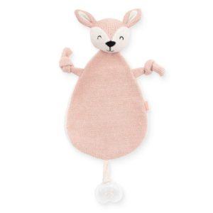 Knuffeldoekje Deer Pink