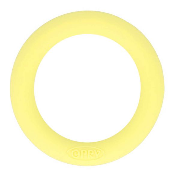 Silconen bijtring geel