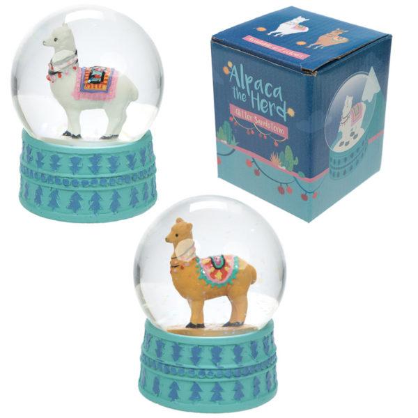 Sneeuwbol Lama