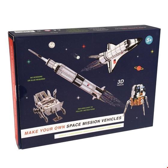 Bouw je eigen ruimtevoertuigen