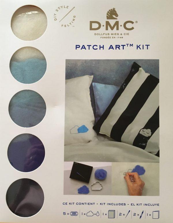 Patch art DMC Wolk